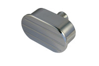 Billet Breather Ball Milled; Polished Finish - All American Billet BOBM-P