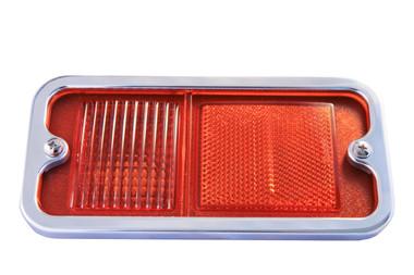 1968-1972 Chevy Truck Billet Side Marker Light Bezel (Pair); Polished Finish - All American Billet BSML-P