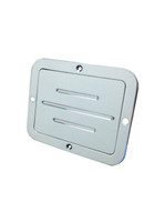 Billet Gas Door Ball Milled; Polished Finish - All American Billet DGS-P