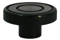 "Billet Dash Knob 7/16"" Shaft Fits 11/64"" Rod; Black Anodized - All American Billet DKL-B"