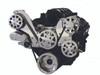 Billet Serpentine System LS1, LS2, LS3 & LS6 W/ Tuff Stuff Water Pump; Polished Finish - All American Billet FDS-LS-101