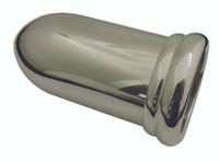 """Billet Gauge Cup For 2.125"""" Single Gauge (Long); Polished Finish - All American Billet 4702-P"""