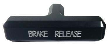Billet Emergency Brake Handle Fits 1/4-20 Thread; Silverline Series - All American Billet HEB-SL