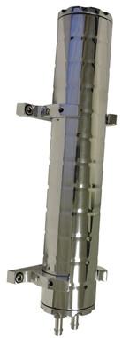 "Billet Radiator Overflow Tank 12"" Long; Polished Finish - All American Billet ROFT-12-P"