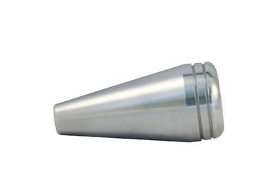 Billet Shift Knob W/ Flat Head; Machined Finish - All American Billet SKFH