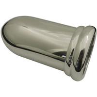 """Billet Gauge Cup For 2.125"""" Single Gauge (Short); Machined Finish - All American Billet 4701"""