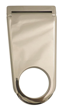 "Billet 4"" Column Drop For 2"" Dia. Column Solid; Polished Finish - All American Billet 4320041-P"