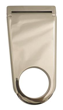 """Billet 4"""" Column Drop For 2.25"""" Dia. Column Solid; Polished Finish - All American Billet 4322541-P"""