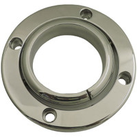 "Billet Floor Mount For 2"" Column; Polished Finish - All American Billet 44200-P"
