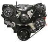 Billet Serpentine System Ford 429/460 W/ AC & W/O PS; Silverline Series - All American Billet FDS-BBF-202