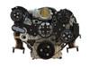 Billet Serpentine System LS7 W/ Tuff Stuff Water Pump; Silverline Series - All American Billet FDS-LS7-201
