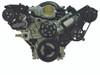 Billet Serpentine System LSX W/ Tuff Stuff Water Pump; Silverline Series - All American Billet FDS-LSX-201