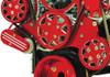 Billet Serpentine System Big Block Chevy W/ AC & W/O PS; Silverline Supreme Series, Red - All American Billet FDS-BBC-602