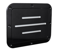 Billet Gas Door Ball Milled; Silverline Series - All American Billet DGS-BG