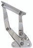 1967-1972 Chevy C10 Billet Hood Hinges; Machined Finish - All American Billet HH-6772CT