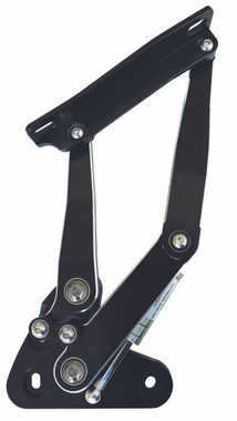 1967-1972 Chevy C10 Billet Hood Hinges; Silverline Series - All American Billet HH-6772CT-SL