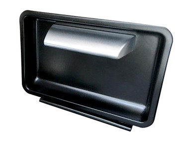 1960-1963 Chevy C10 Billet Ashtray Handles; Machined Finish - All American Billet HAT-6063-C10