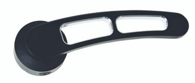 Billet Door Handle W/ Dual Cutouts (Pair); Silverline Series - All American Billet DH-DC-BG-1