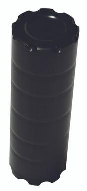 Billet Power Steering Reservoir; Black Anodized - All American Billet PSR-B