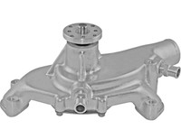 Big Block Chevy Aluminum Serpentine System Reverse Rotation Water Pump; As Cast - All American Billet 1495ACREV