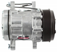 Peanut Style Air Conditioning Compressor; As Cast - All American Billet 4517NC6G