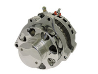 GM CS130 Style Alternator - 160 AMP, 1-wire; Polished Finish - All American Billet 7861MP