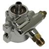Billet GM Type II Power Steering Pump; Chrome - All American Billet JM2010-C