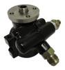 Billet GM Type II Power Steering Pump; Black - All American Billet JM2010-B