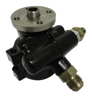 Billet GM Type II Power Steering Pump; Black - All American Billet JM2010-B