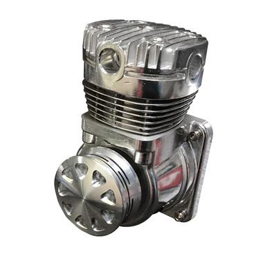 Billet Compressed Air Filter; Machined Finish - All American Billet CAF-M