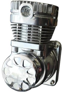 Billet Compressed Air Filter; Polished Finish - All American Billet CAF-P