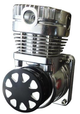 Billet Compressed Air Filter; Silverline Series - All American Billet CAF-SL