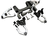 1963-1972 GM C10 Pickup Front Suspension W/ Billet Arms & Airbag Brackets - All American Billet 6372GMFS-BAAB