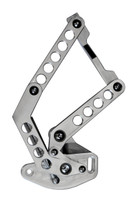 1960-1966 GM Billet Hood Hinges With Holes; Machined Finish - All American Billet HH-6066CT-H