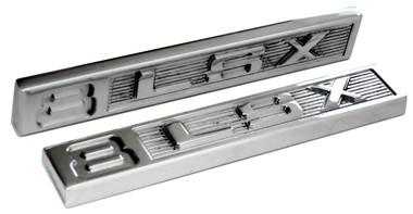 Polished Billet Emblem Set (8 LSX) - All American Billet ES-8LSX-P
