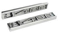 Polished Billet Emblem Set (8 468) - All American Billet ES-468-P
