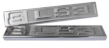 Polished Billet Emblem Set (8 LS3) - All American Billet ES-8LS3-P