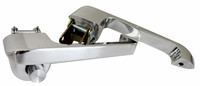 Billet Door Handles (Pair) For Ford Bronco and Mustang  - Polished Finish - All American Billet DH-6677FB-P