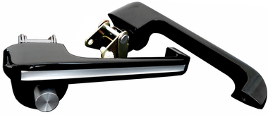 Silverline Series Billet Door Handles (Pair) For Ford Bronco and Mustang  - All American Billet DH-6677FB-SL