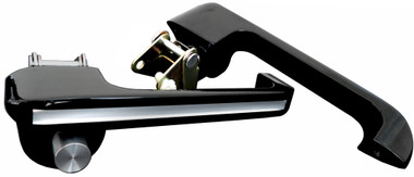 Silverline Series Billet Door Handles (Pair) For Ford Bronco and Mustang  - All American Billet DH-6677FB-SL