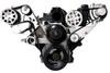 Billet Serpentine LS Truck Budget Kit; Polished Finish - All American Billet FDS-LSBT-101