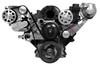 Billet Serpentine LS F Body Budget Kit; Machined Finish - All American Billet FDS-LSBF-301