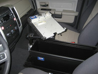 "C-2410* - 24"" Enclosed 10"" high console"