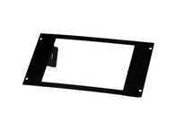 "C-EB45-WS2-1P-A - Angled 1-Piece Equipment Mounting Bracket, 4.5"" Mounting Space, Fits Whelen 295HFS Series"