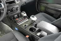 """C-VS-2400-CHGR-2, 2011-2016 Dodge Charger (Police Package) Vehicle Specific 24"""" Console"""