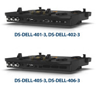 DS-DELL-405-3 - Docking Station with Triple Pass-through Antenna for Dell's Latitude 14 Rugged and Latitude 12 & 14