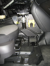 PKG-PSM-241 - DISCONTINUED [USE P/N:PKG-PSM-341] -- 2013-2017 Ford Police Interceptor Sedan Premium Passenger Moun