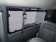WGI-C1 - 1997-2019 Chevrolet G-Series Extended Length Van With Swing Out Side Doors Interior Window Guard Kit