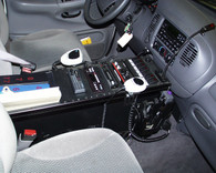 "C-3010, 30"" Enclosed 10"" high console"