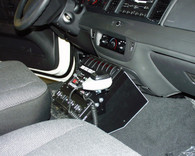 "C-AS-940-8, 9"" Angled Series Console For Sedans"